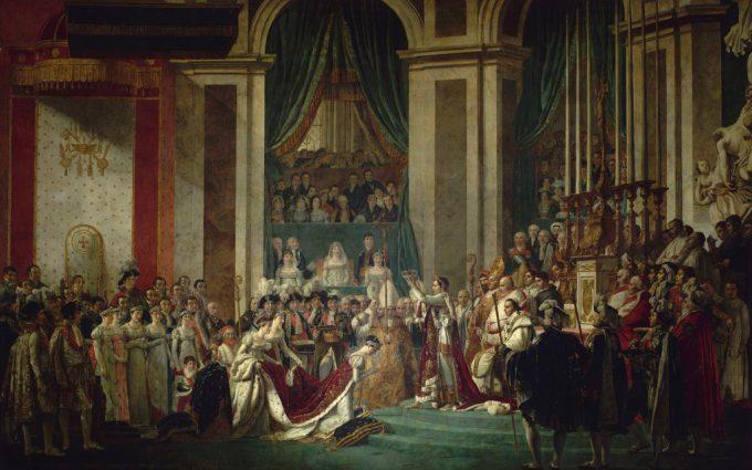 ベルサイユ宮殿に展示されている絵